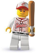 Lego minifigures serie 3 collezione giocatore baseball