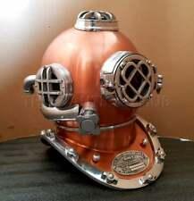 Maritime Diving Helmet Antique U.S Navy Mark V Deep Sca Vintage Scuba Divers Hel