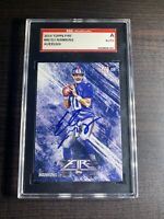 2014 topps fire football #40 Eli Manning SGC Authentic Auto!🔥