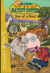 The Wild Thornberrys Chapter Book #6: One of a Kind Paperback 1st Edition 2001