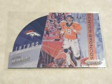 2015 Panini Prizm Die cut Intro Peyton Manning - Denver Broncos