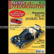 AUTO MODELISME N°12 ALFA ROMEO BIMOTORE PORSCHE 911 GT1 ALPINE A110 FERRARI F40