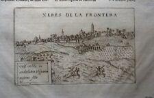 ANDALUCÍA, Jerez de la Frontera.  Vista original de Lasor a Varea, 1713