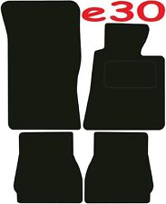 Bmw e30 Convertible 3 Series DELUXE QUALITY Tailored mats 1984 1985 1986 1987 19