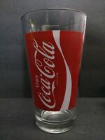 Vintage 1970's Coca-Cola 16 Oz. Clear Drinking Glass Tumbler EXCELLENT CONDITION