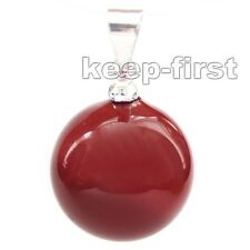 AAA Jewelry Lady's 14mm South Sea Shell Pearl Pendant red