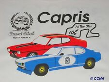 Ford Capri CCNA At Watkins GlenT-Shirt IMSA SCCA Trans Am SVRA Vintage Race Cars