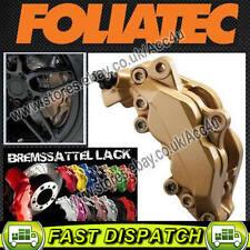 Foliatec GOLD FT2165 Car Bike Engine & Brake Caliper High Temp Paint Lacquer Kit