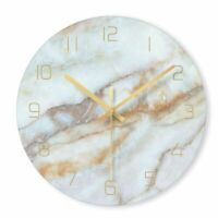Marble Wall Clock Modern Minimalist Living Room Bedroom Arts Clocks Nordic Watch