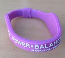 Small Pink Power Balance  Energy Silicon Wrist Band Hologram Bracelet.  NEW
