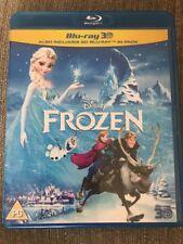 Frozen 3D - Disney Classic - GENUINE UK BLU-RAY 3D + 2D SET - EXCEL CONDITION