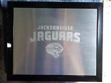 JAGUARS FOOTBALL KEEPSAKE BOX WITH ENGRAVED METAL TOP BONUS CANDLE AND GLASS