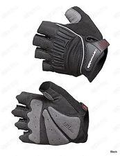 Tactic fingerless Bicycle Bike Cycling Racing Gloves gel on palm Black M