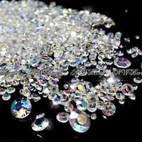 Crystal AB Mixed Sizes Scatter Diamonds Wedding Party Table Confetti Crystal
