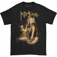 Kesha Men's  Party T-shirt Black