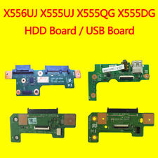 Para ASUS X555DG X555QG X555UJ X556UJ X556UV Audio I/O USB SD Unidad De Disco Duro HDD Board