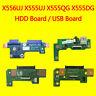 For ASUS X555DG X555QG X555UJ X556UJ X556UV USB IO Audio SD Hard Drive HDD board