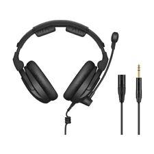 "Sennheiser HMD 300 XQ-2 Headset With Boom Microphone Cable XLR and 1/4"" Jacks"