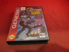 Contra Hard Corps Sega Genesis Empty Box ONLY (no manual/game)