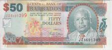 BARBADOS BANKNOTE P. 70a 50 DOLLARS 1.5.2007,  UNC WE COMBINE