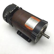 """Fincor 9207509TFB DC Motor, Frame: 56C, 3/4HP, Shaft: 5/8"""", 90VDC *Rust*"""