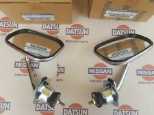 DATSUN 1200 (SUNNY TRUCK, B120) OUTSIDE FENDER MIRROR ASSEMBLY GENUNIE RH & LH