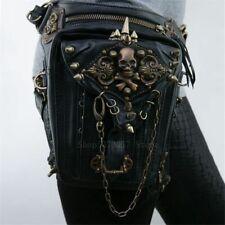 Medieval Renaissance Women Gothic Leg Bag Belt Assassin Pu Leather Viking Pirate