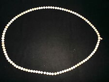 Old Nepal Tibet Buddhist 108 White Conch Shell Mala Prayer Beads III
