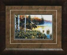 "Jim Hansel /""End of the Road/"" Cabin Lake Print 12 x 7.75"
