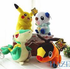 Set of 4pcs Plush Toy Oshawott Snivy Tepig Soft Doll