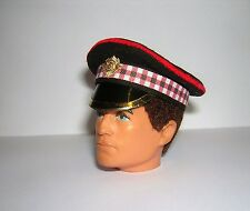 Banjoman 1:6 Scale Custom Made Scots Guards Peaked Cap For Action Man / G I Joe