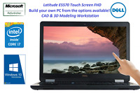 Dell Latitude E5570 Core i7 8G 16G 32G RAM   256G 512G 1TB SSD Touch 1920X1080