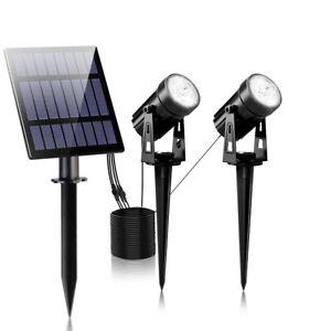 T-SUN Solar Spot Light Outdoor Waterproof Solar Lamp Garden Cold Light Landscape