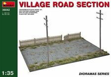 MiniArt Country Village Road Town Section 1:3 5 Kit Model Set 36042 Diorama
