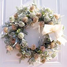 Artificial Flower DIY Floral Wreath Door Wedding Home Wall Hanging Decor 50cm