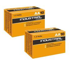 20x DURACELL INDUSTRIAL AA Piles Alcalines Remplace Procell MN1500 1.5 V LR6
