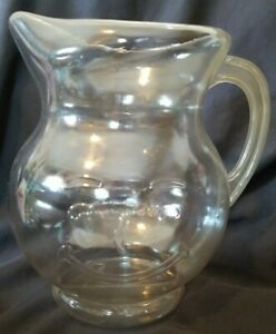 Limited Edition 1999 Kool Aid Smiling 2 Quart Pitcher ~ Clear ~ Never Used