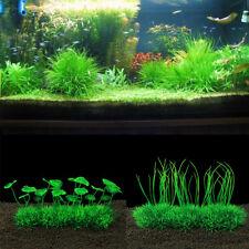 1/4Pcs Plants Artificial Water Grass Fish Tank Aquarium Ornament Landscape Decor
