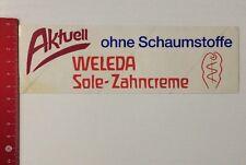 Aufkleber/Sticker: WELEDA Sole-Zahncreme Ohne Schaumstoffe (28031650)