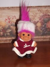 RUSS TROLL DOLL - WINTER DRESS, HAT & BOOTS -  5""