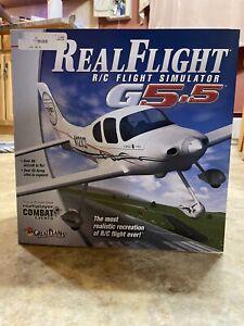 Used Flight R/C Flight Simulator G5.5 With Interlink Elite Controller by Futaba