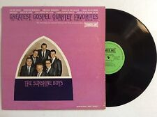 THE SUNSHINE BOYS Greatest Gospel Quartet Favorites vinyl LP rare MINT