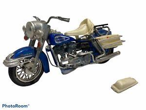 Vintage Die Cast Polistil MS 101 Harley Davidson 1200CC Motorcycle Made In Italy