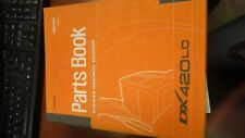 DOOSAN DX420LC Parts Book and owners manual