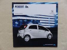 Peugeot iOn - Elektroauto - Prospekt Brochure 06.2016