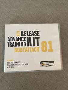 Les Mills BodyAttack Release 81 Workout Kit. CD & DVD