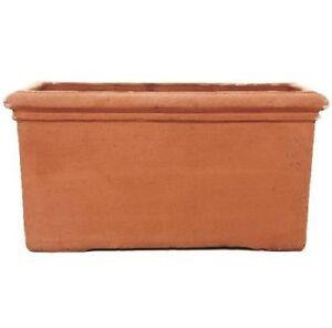 Terracino Fresco Trough Planter/Terracotta Pot/Gardening/Flower Container