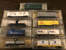 N Scale Lot Of 9 Model Power Freight Cars All New