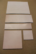 Naturleder, Lederstück aus Blankleder, Dickleder, bis zu 5.5 mm stark, Vachette