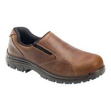 Avenger Men's   A7106 Composite Toe EH Slip-On Shoe Brown Full Grain Crazy Horse